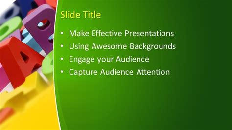Free Learning PowerPoint Template - Free PowerPoint Templates