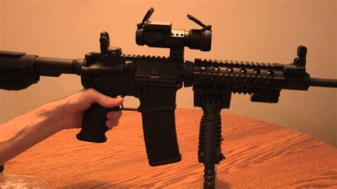 DPMS Panter AR-15 Review and accessories - YouTube