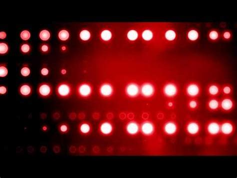 Horizontal Red Stage Lights Motion Background - YouTube