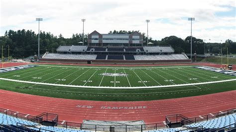New Hampshire Wildcats Playing on New Shaw Sports Turf Field