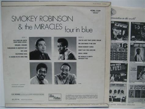 SMOKEY ROBINSON & THE MIRACLES / Four In Blue - 大塚レコード